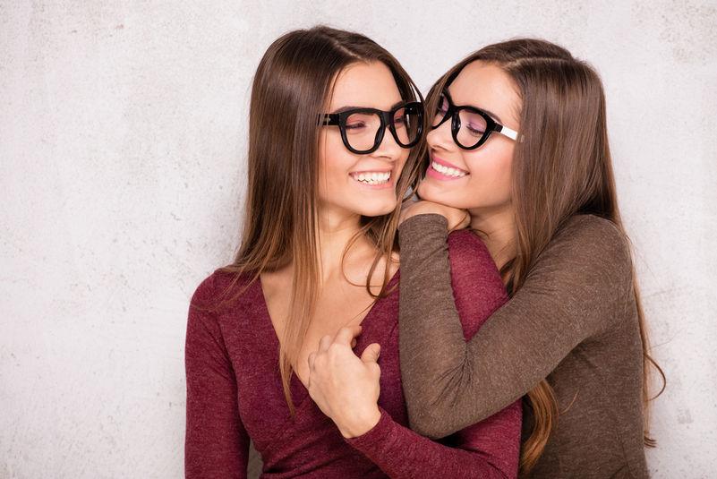 Dámské brýle černobílé